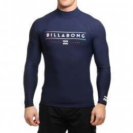 Billabong Unity Long Sleeve Rash Vest Navy
