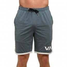 RVCA VA Sport Shorts Stormy Blue
