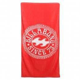 Billabong Must Be Beach Towel Horizon Red