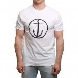 Captain Fin Original Anchor Tee White