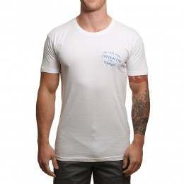 Captain Fin Run Of The Mill Tee White