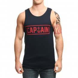 Captain Fin Naval Captain Vest Navy/Red
