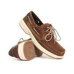 Chatham Pegasus Shoes Brown/Navy