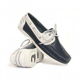 Chatham Julie Shoes Navy/White