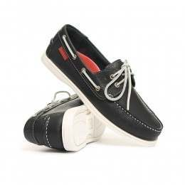 Chatham Commodore Shoes Navy