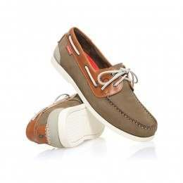 Chatham Galley II Leather Shoes Khaki/Tan