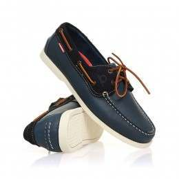 Chatham Galley Shoes Navy