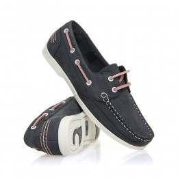 Chatham Julie Shoes Navy/Pink