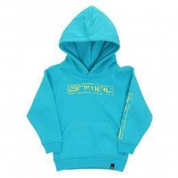 Animal Infant Boys Roadie Hoody Bluebird Blue