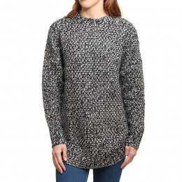 Rusty Moss Knitted Jumper Black