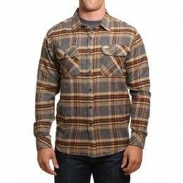 Captain Fin Merchant Shirt Charcoal