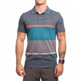 Animal Ramin Polo Shirt Total Eclipse Navy Marl