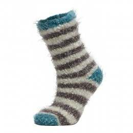 Animal Velvet Adella Socks Grey Mark