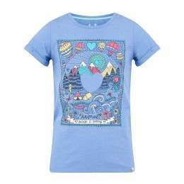 Animal Girls Bearlythere Tee Persian Blue
