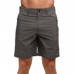 Animal Hugo Hybrid Shorts Asphalt Grey