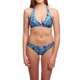 Animal Paison Halterneck Bikini Sailor Blue