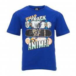 Animal Boys Snapp Tee Clematis Blue