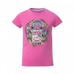 Animal Girls Betsy Bus Tee Rose Pink