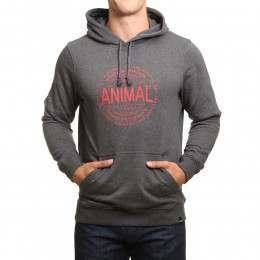 Animal Hills Hoody Dark Charcoal Marl