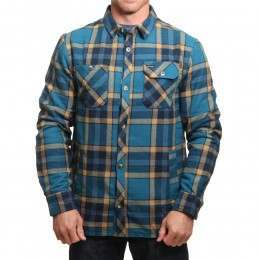 Animal Silverstoe Sherpa Shirt Lyons Blue
