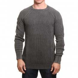 Animal Washed Crew Jumper Black