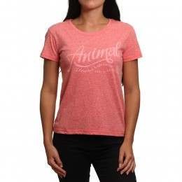 Animal Retreat Tee Sports Red Marl