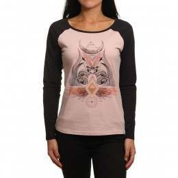 Animal Mystic Long Sleeve Top Barely There Pink