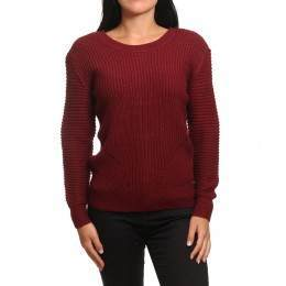 Animal Jayla Jess Jumper Bordeaux Red