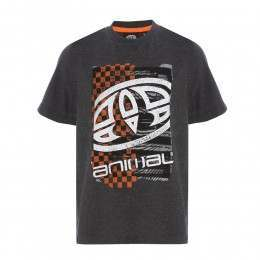 Animal Boys Tabo Tee Dark Charcoal Marl