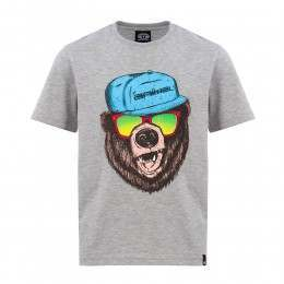 Animal Boys Todd Tee Grey Marl