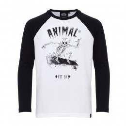 Animal Boys Bridger L/S Top Black