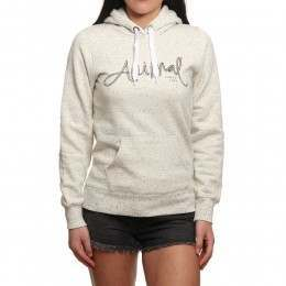 Animal Sketched Hoody White