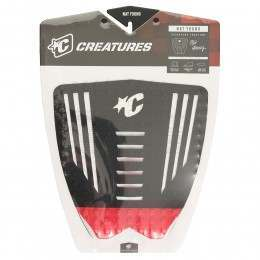 Creatures Nat Young Deck Pad Black/Red