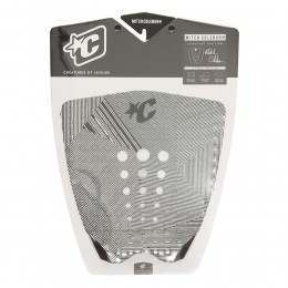 Creatures Coleborn Surfboard Deck Pad Black/White