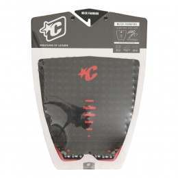 Creatures Mick Fanning Surfboard Deck Pad Blk/Red