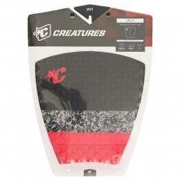 Creatures Split Deck Pad Black/Red