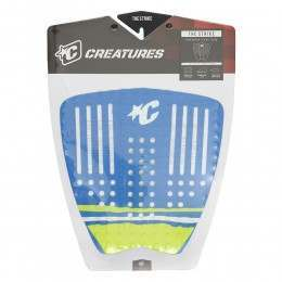 Creatures Strike Surfboard Deck Pad Boat Blue/Lime