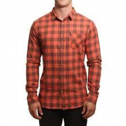 Ripcurl Check Shirt Ginger Spice