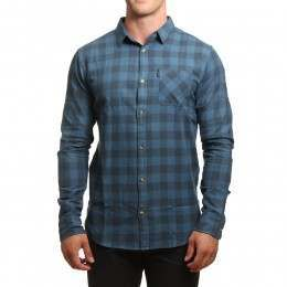 Ripcurl Check Shirt Indian Teal