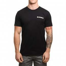 Captain Fin Team Tee Black