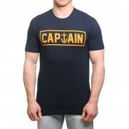 Captain Fin Naval Captain Tee Navy/Gold