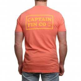 Captain Fin New Wave II Tee Melon