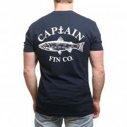 Captain Fin Fishy Tee Navy