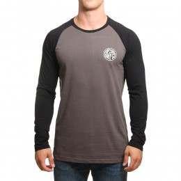 Ripcurl Surf Co Raglan L/S Top Charcoal Grey