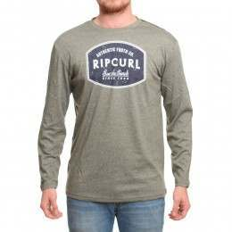 Ripcurl Scratched Window L/S Top Dusty Olive