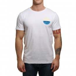 Ripcurl Retro Mamas Tee Optical White