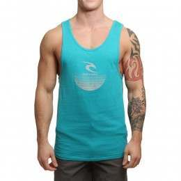 Ripcurl The Corporate Tank Lake Blue Marle