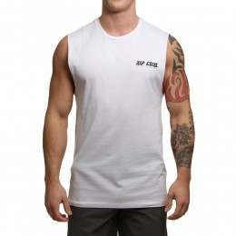 Ripcurl Tripper Vibes Muscle Tank Optical White