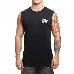 Ripcurl Tripper Vibes Muscle Tank Black