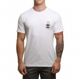 Ripcurl The Search Tee Optical White